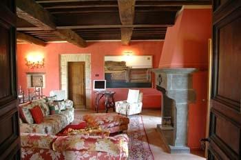 stile rustico con romantici interni