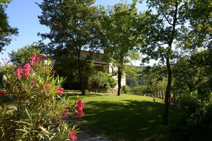 Villa a Perugia con ampio giardino
