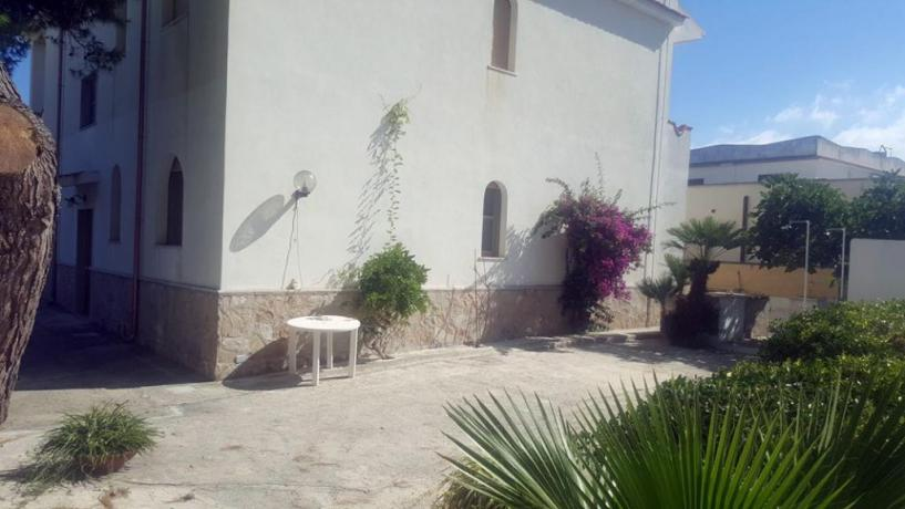 Esterno Villa Vacanze fronte mare sul Gargano