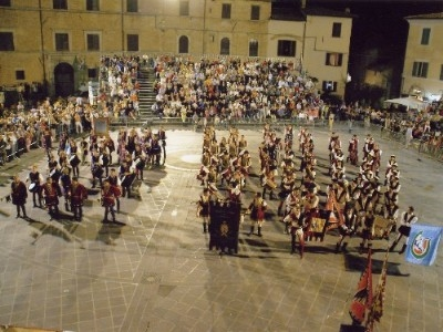 Medieval shows in the square