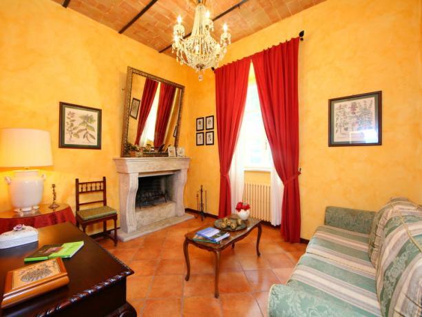 Villa Vacanze con Camino in Umbria