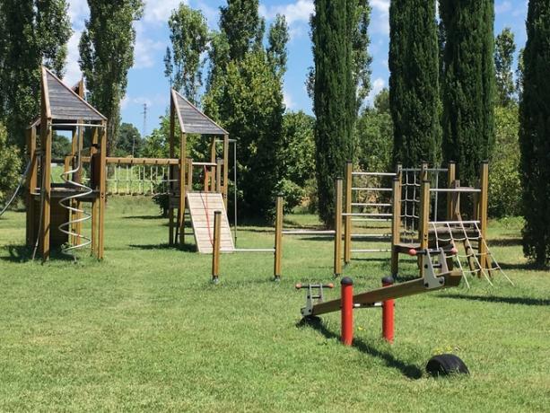 Area giochi in agriturismo a Perugia