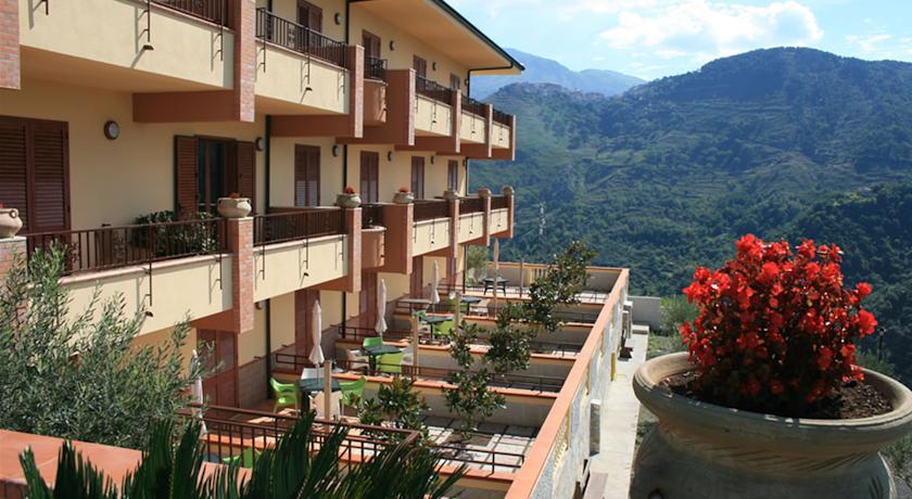 camere con terrazzino in provincia di Cosenza