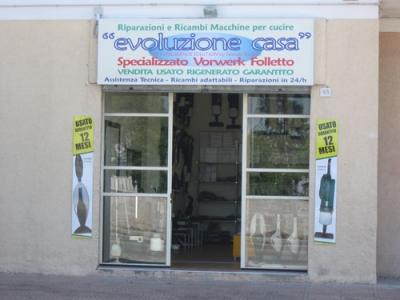 Negozio in Umbria di ricambi per Folletto