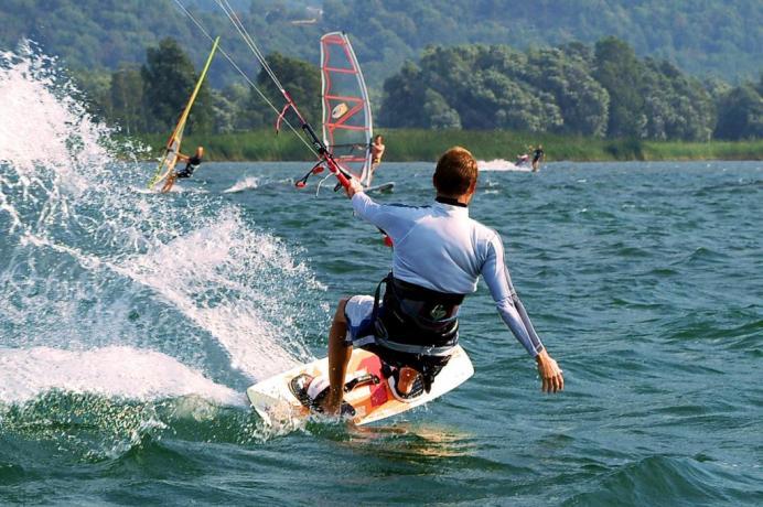Lago Piediluco: ideale per SURF e KITE SURF