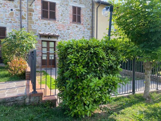 LaCantina- Spazio esterno giardino privato con vista