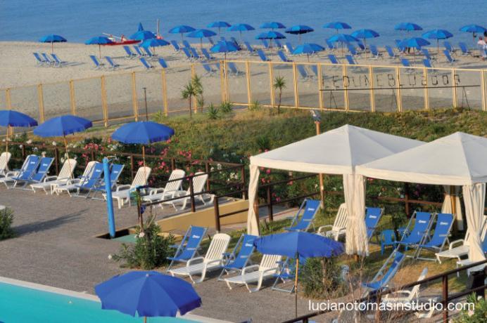 Villaggio sul mare con spiaggia inclusa in Calabria