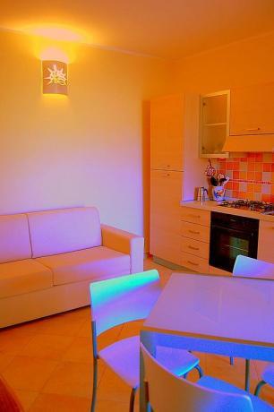Appartamenti con cucina e soggiorno ad Olbia