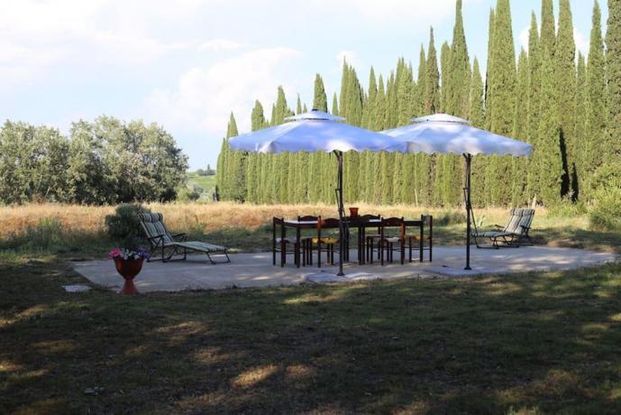 Villa Vacanza Montespertoli: Vista panoramica camere