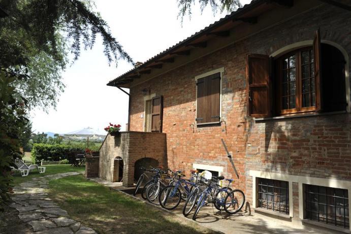 Noleggio bici Agriturismo a Castiglione del Lago