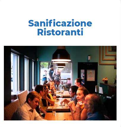 Sanificazione Certificata COVID-19:   RISTORANTE Roma