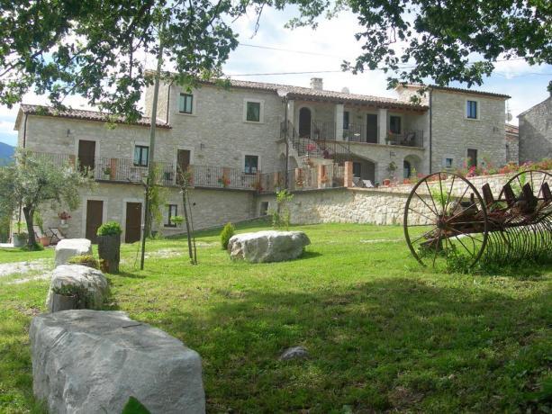 Agriturismo Il Borgo Antico Abbateggio Parco N.le Majella
