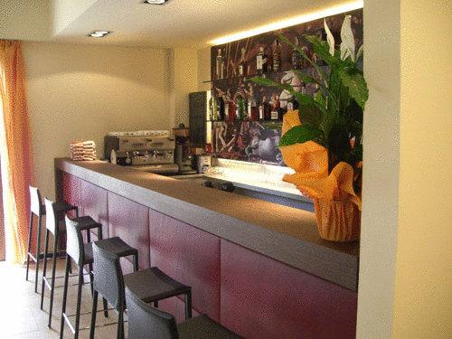 Area bar all'interno dell'hotel