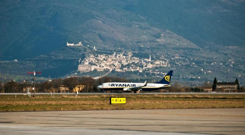 Dormire vicino Aeroporto San Francesco di Assisi-Perugia
