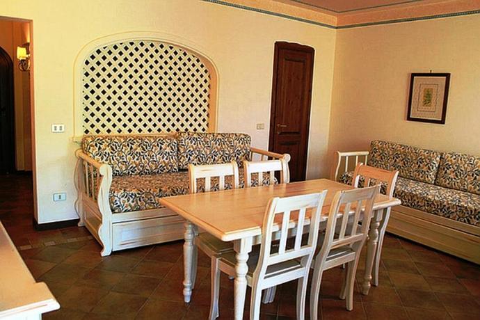 Salotto in appartamento vacanza hotel ad Arzachena