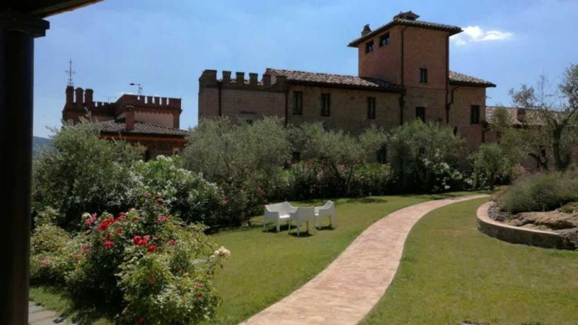 Hotel 3 Stelle ad Assisi con Ampio Giardino