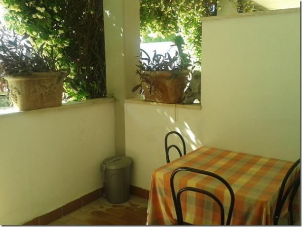 Mangiare all'aperto in Villa Magione in Umbria