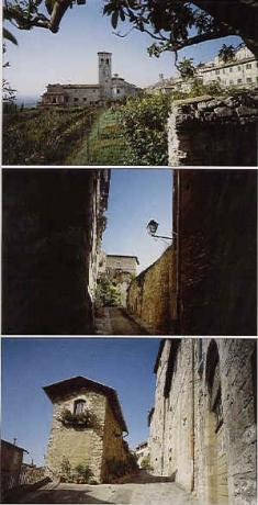 Vista panoramica su Assisi