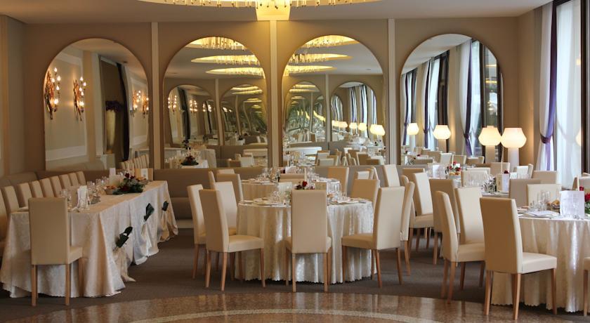 sala ristorante al coperto hotel Monselice Padova