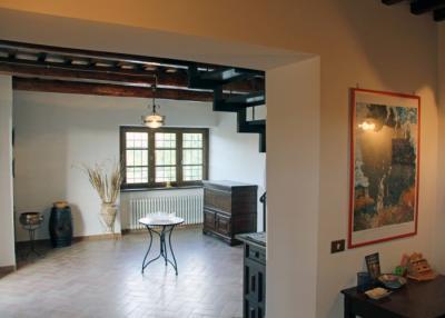 Appartamento Leccino, Ingresso