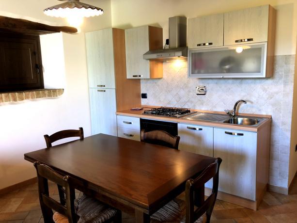 Appartamento con angolo cottura attrezzato