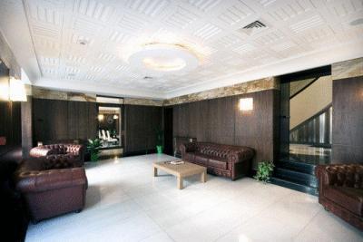 Sala comune in stile moderno