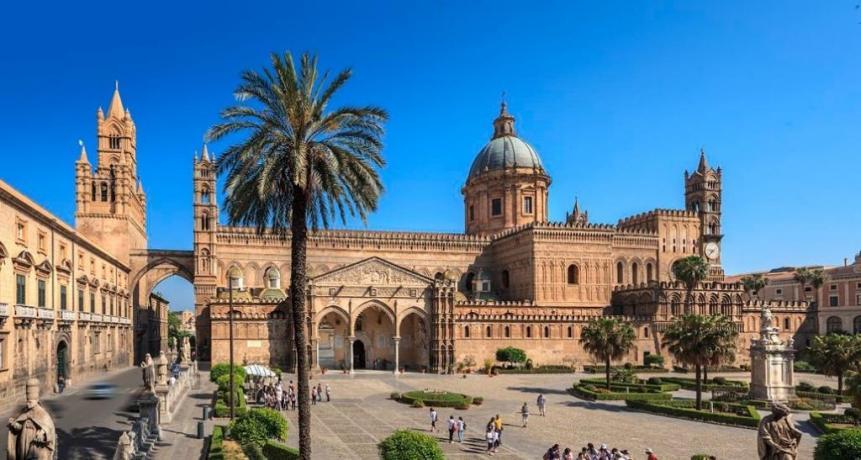 La bellissima città di Palermo
