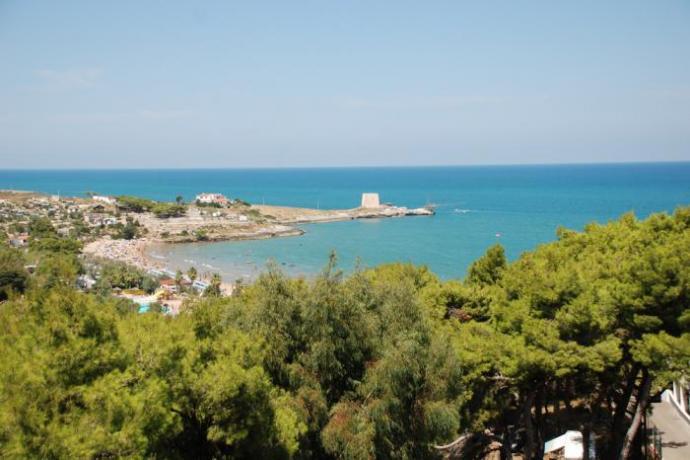Villaggio economico Fronte-Mare con Spiaggia ad Uso-Esclusivo