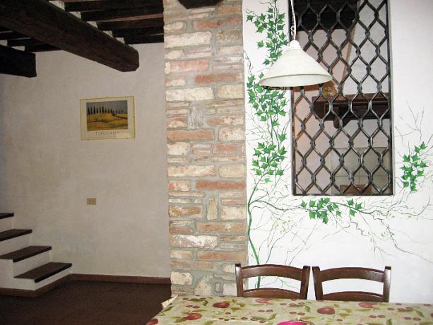 Appartamento Leccio con 2 camere matrimoniali Lago Trasimeno