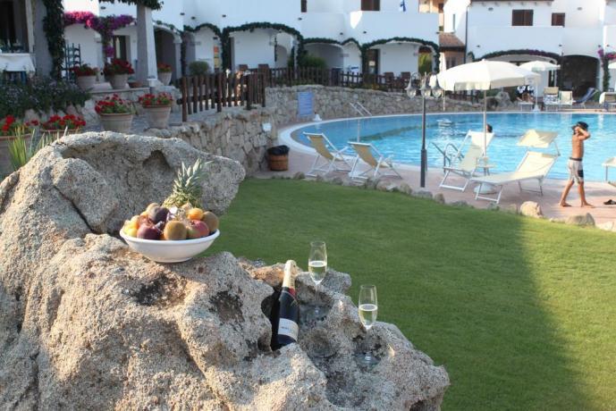 Appartamenti vicino Cala Gonone con piscina
