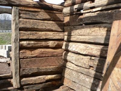 Interno pareti chalet 1800 rovere recupero restauro baite - Vendita tavole di legno ...