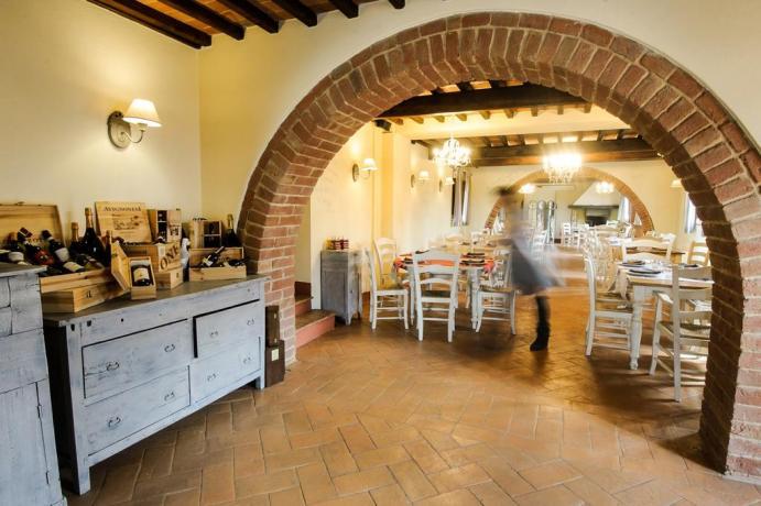 Suite sull'albero con ristorante in Umbria