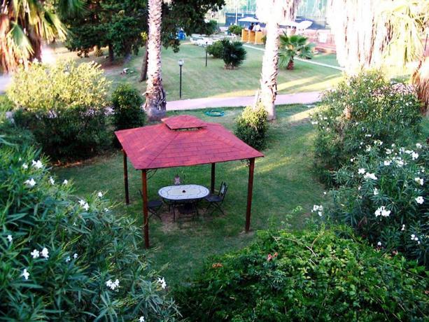 Giardino giochi bambini hotel 3 stelle centro Anzio