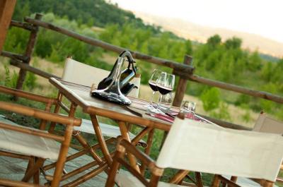 Possibilità di cena romantica in terrazza