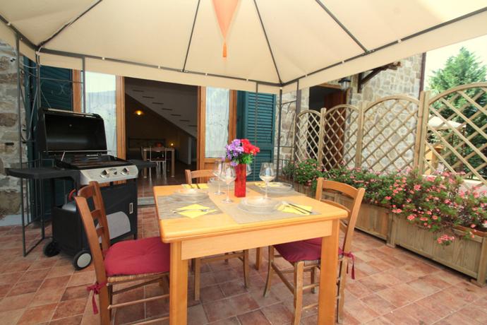 Appartamento Acciaroli con Giardino esterno