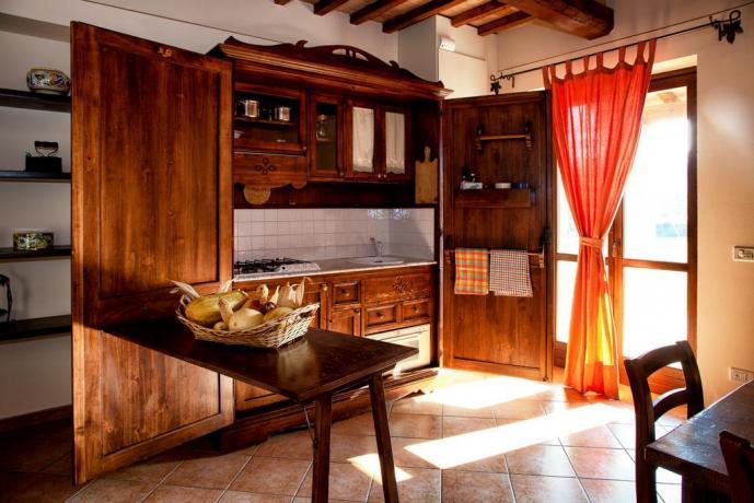 Agriturismo alta qualità Umbria: Angolo-Cottura