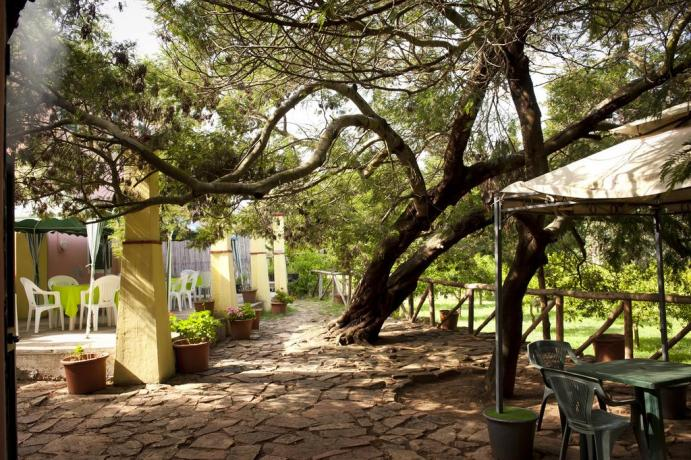 Agriturismo in Sardegna immerso nel verde