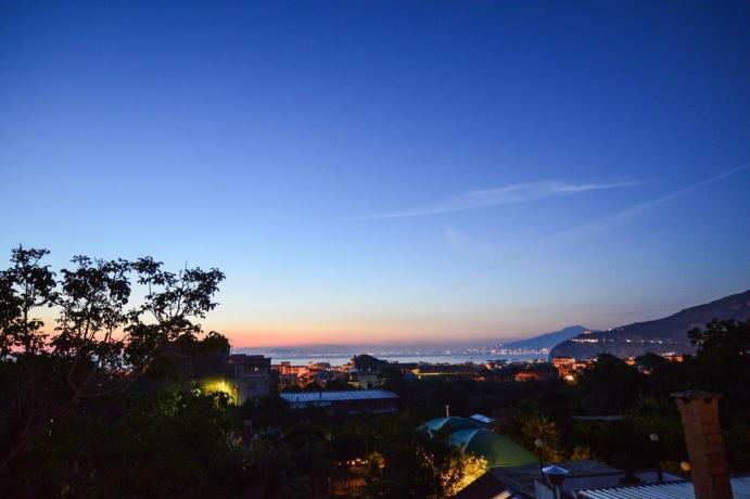 Terrazza con vista panoramica su Costiera di Sorrento