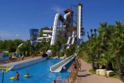 Stay near the Water Amuesmentpark in Jesolo