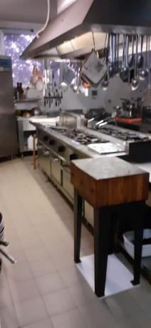 Cucina industriale super attrezzata