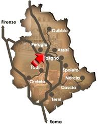 Cannara Map