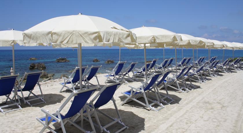 Spiaggia Privata di Sabbia in Villaggio Parghelia