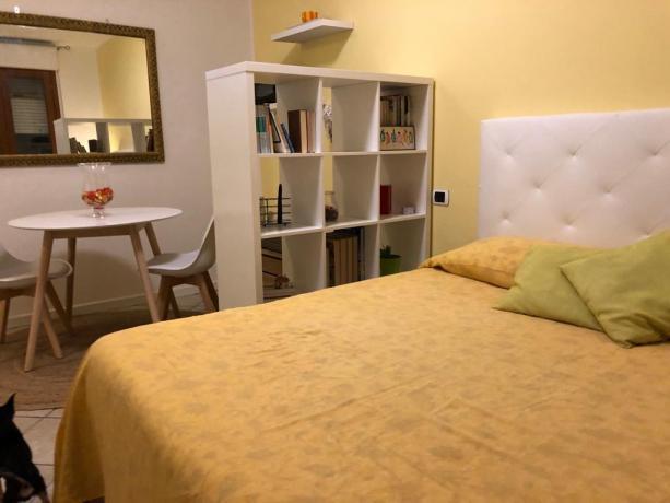 Monolocale letto King Size Assisi ideale per coppie