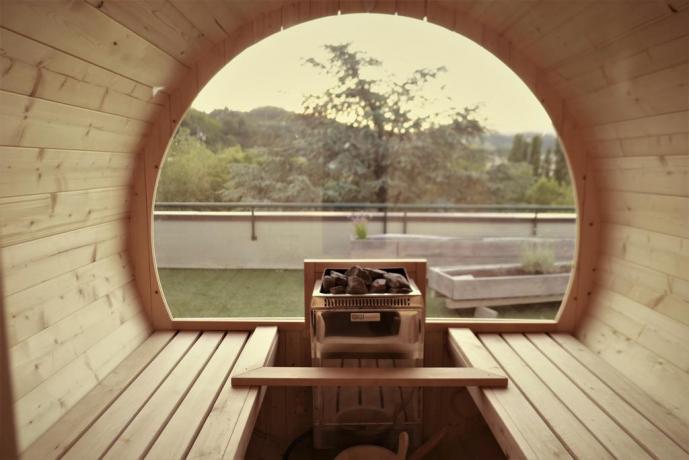 Hotel con moderna sauna finlandese Porretta Terme