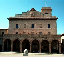 Montefalco medieval town in Umbria