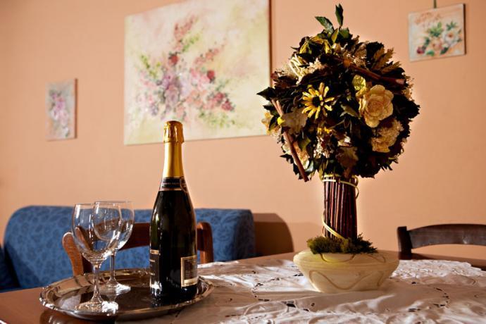 cucina camera melissa Residence in Emilia