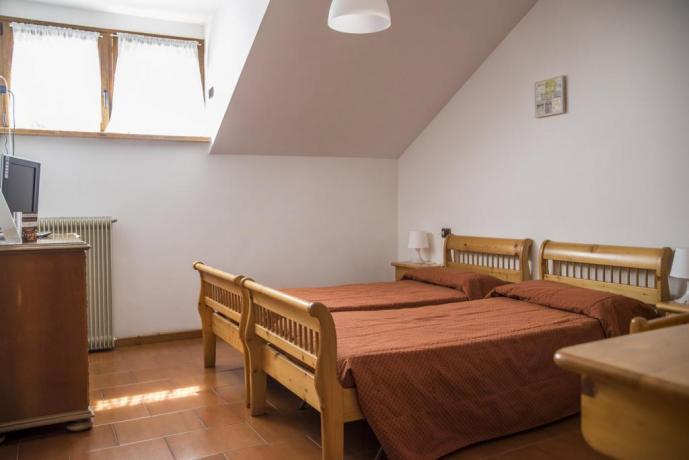 Camera Low Cost in montagna Lavarone-Trento hotel3stelle