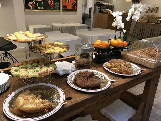 Colazione dolce e salata, Hotel a Milano