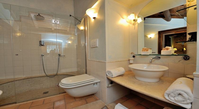 Franculini Luxury Suite elegante bagno