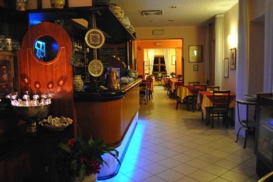 Ristorante Pizzeria Romantico ad Assisi, vista panoramica